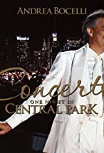 Primary image for Andrea Bocelli Live in Central Park