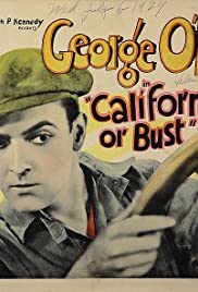 California or Bust Poster