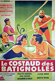 Le costaud des Batignolles Poster