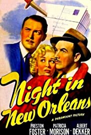 Night in New Orleans Poster