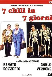 7 chili in 7 giorni Poster