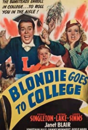 Blondie Goes to College (1942) Poster - Movie Forum, Cast, Reviews