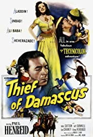 Thief of Damascus Poster