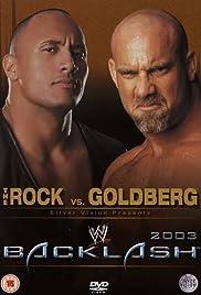 WWE Backlash(2003) Poster - TV Show Forum, Cast, Reviews