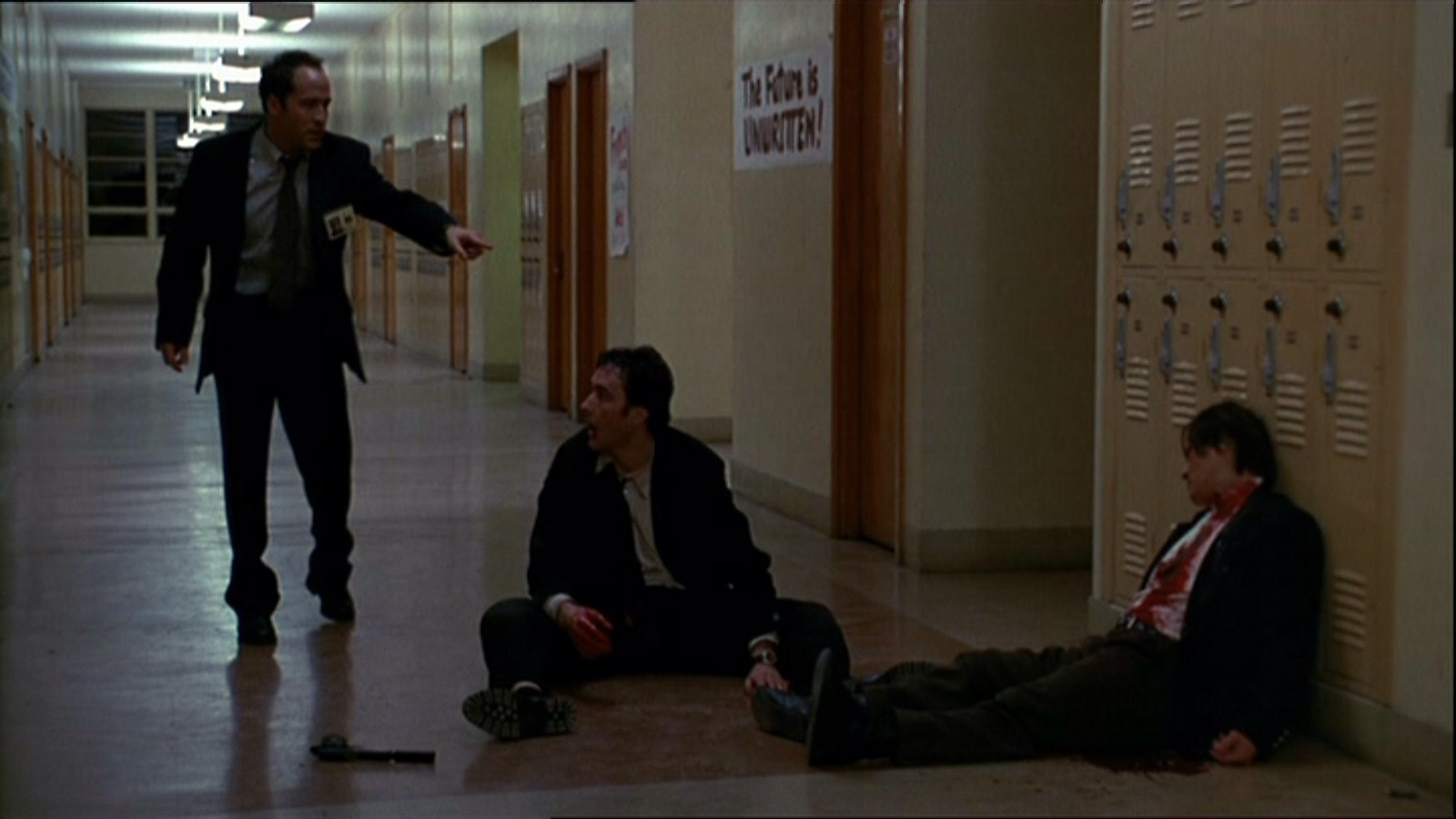 John Cusack and Jeremy Piven in Grosse Pointe Blank (1997)
