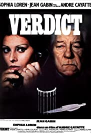 Verdict (1974) Poster - Movie Forum, Cast, Reviews