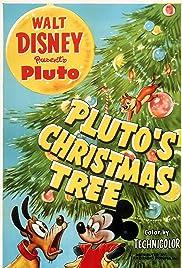 Pluto's Christmas Tree Poster