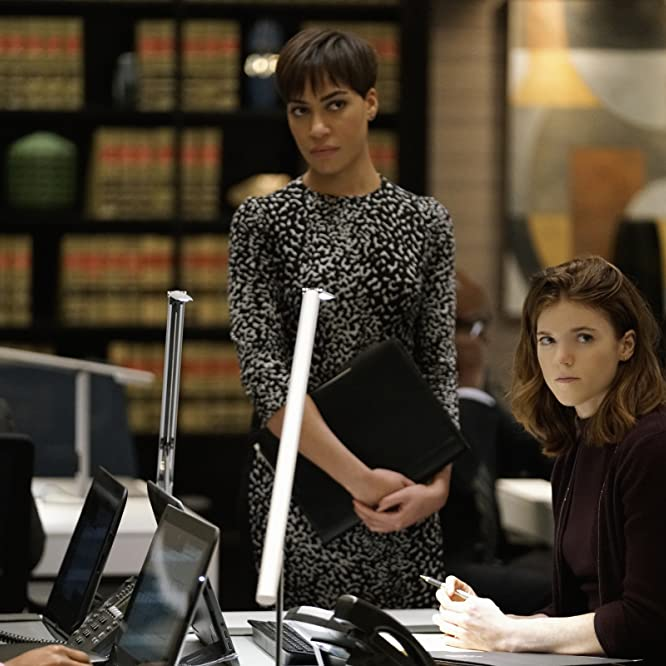Cush Jumbo and Rose Leslie in The Good Fight (2017)