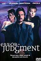 Image of Error in Judgment
