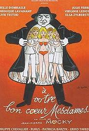 À votre bon coeur mesdames Poster