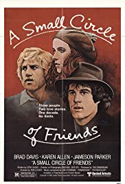 A Small Circle of Friends (1980) Poster - Movie Forum, Cast, Reviews