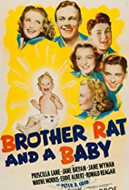 Brother Rat and a Baby (1940) Poster - Movie Forum, Cast, Reviews