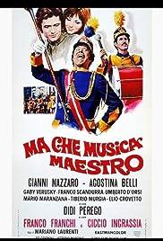 Ma che musica maestro Poster