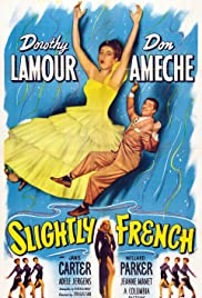 Slightly French Poster