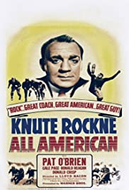 Knute Rockne All American (1940) Poster - Movie Forum, Cast, Reviews