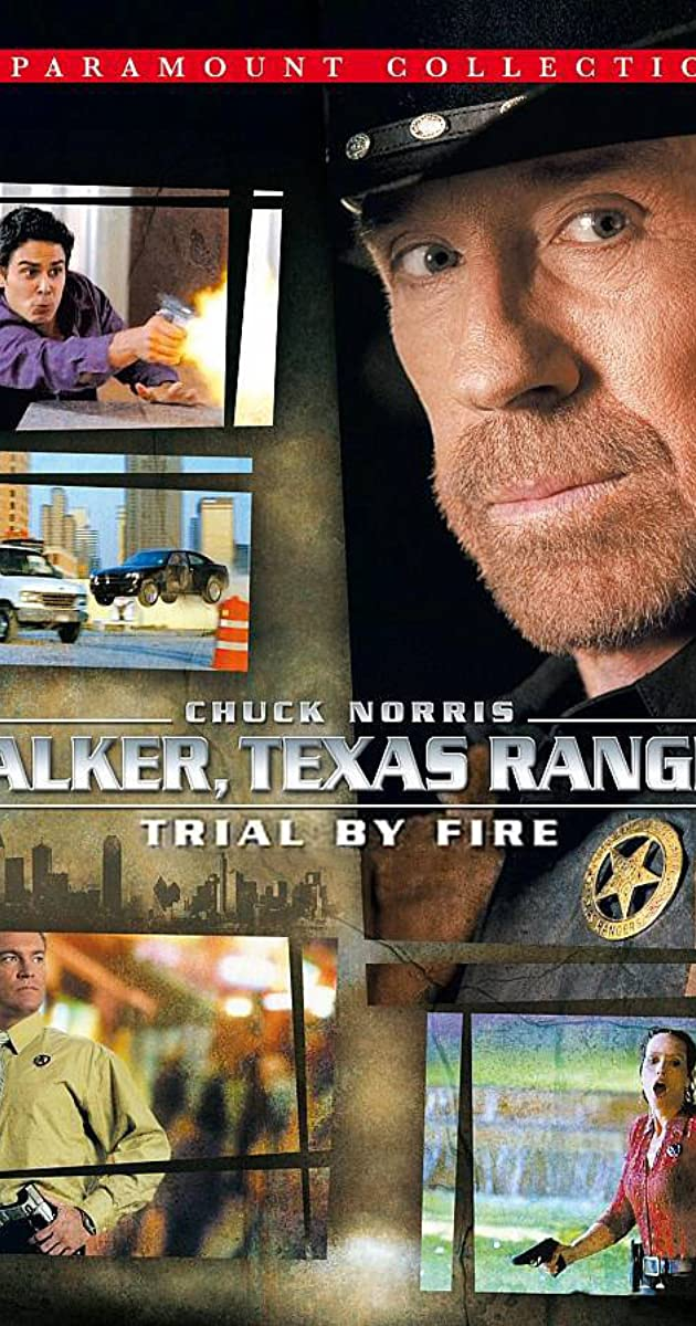 walker texas ranger trial by fire tv movie 2005 imdb. Black Bedroom Furniture Sets. Home Design Ideas
