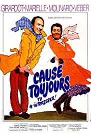 Cause toujours... tu m'intéresses! Poster