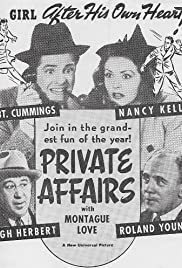 Private Affairs (1940) - Romance, Comedy.