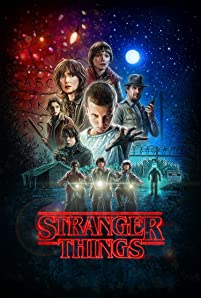 Winona Ryder, David Harbour, Natalia Dyer, Caleb McLaughlin, Millie Bobby Brown, Finn Wolfhard, Charlie Heaton, Noah Schnapp, and Gaten Matarazzo in Stranger Things (2016)