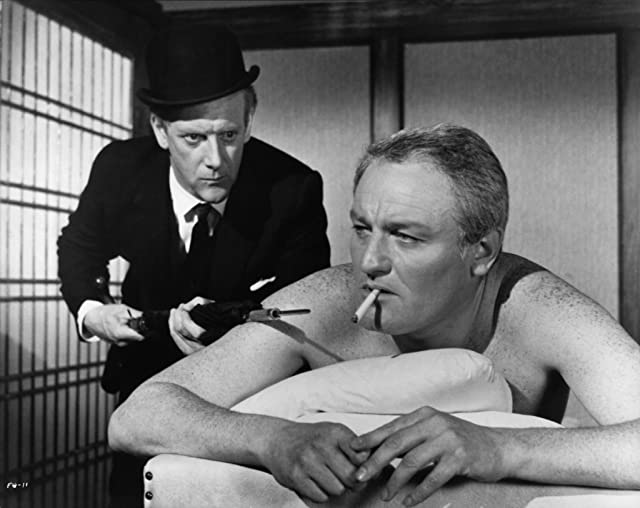 Graham Crowden and Charles Gray in The File of the Golden Goose (1969)