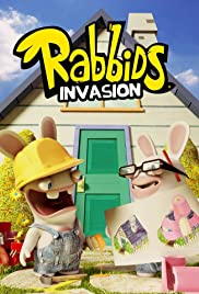 Rabbids Invasion Poster - TV Show Forum, Cast, Reviews