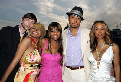 Terrence Howard, Elise Neal, Paula Jai Parker, Taraji P. Henson, and DJ Qualls