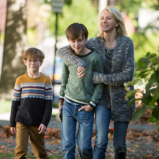 Naomi Watts, Jacob Tremblay, and Jaeden Lieberher in The Book of Henry (2017)