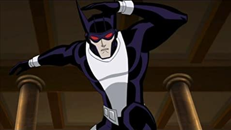 The Justice Lords (and Reverse Flash?) from Justice League Unlimited