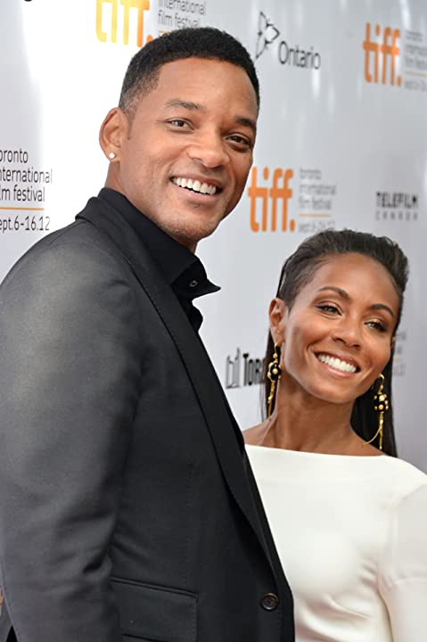 Will Smith and Jada Pinkett Smith at Free Angela and All Political Prisoners (2012)