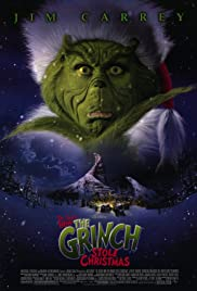 How the Grinch Stole Christmas Poster