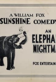 An Elephant's Nightmare Poster