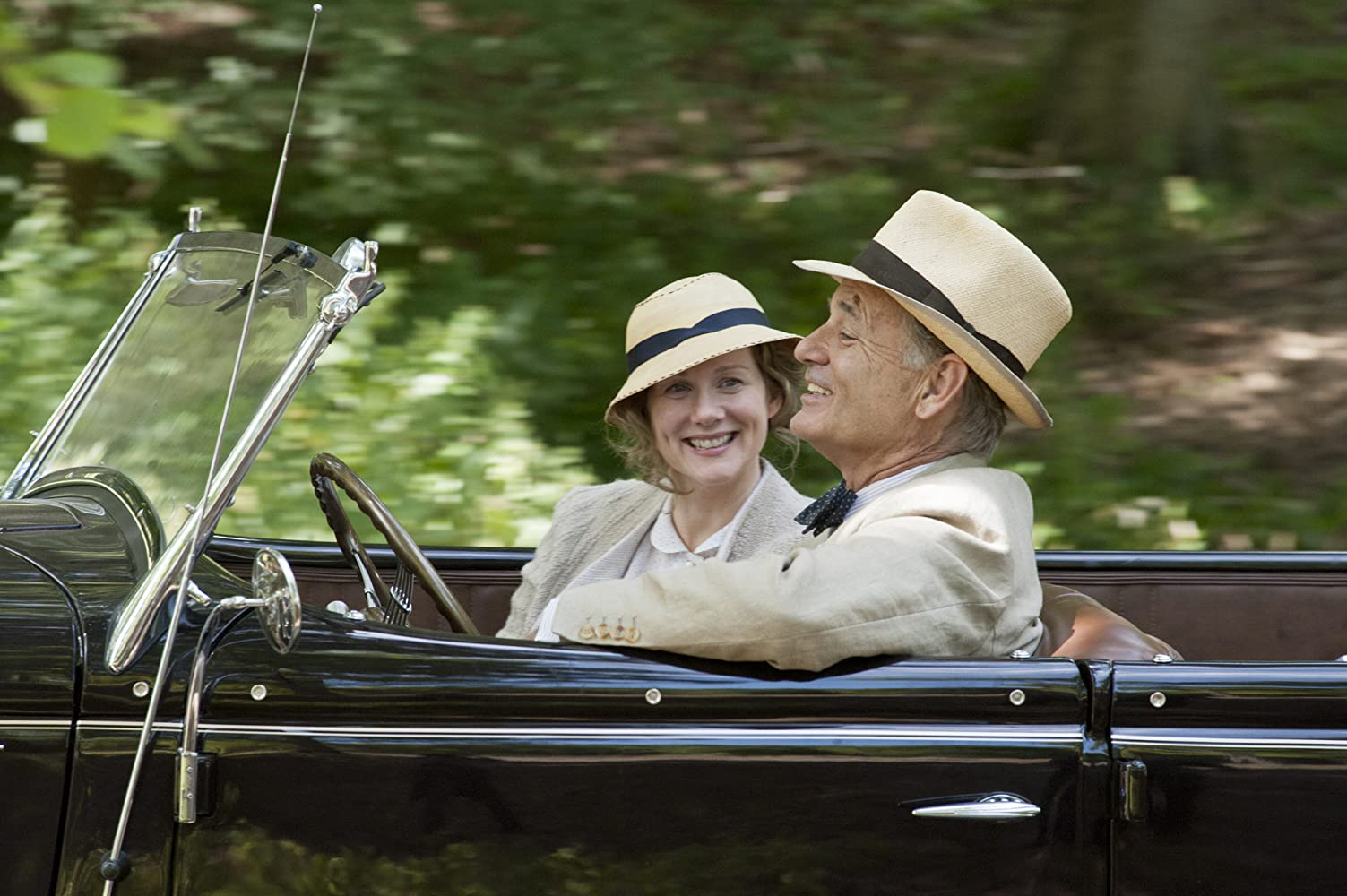 Bill Murray and Laura Linney in Hyde Park on Hudson (2012)