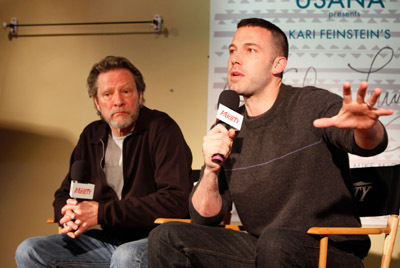 Ben Affleck and Chris Cooper