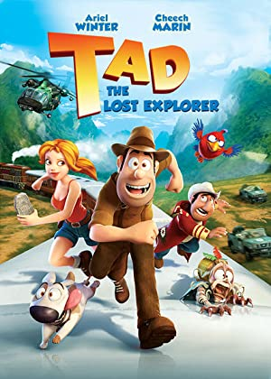 Tad: The Explorer poster