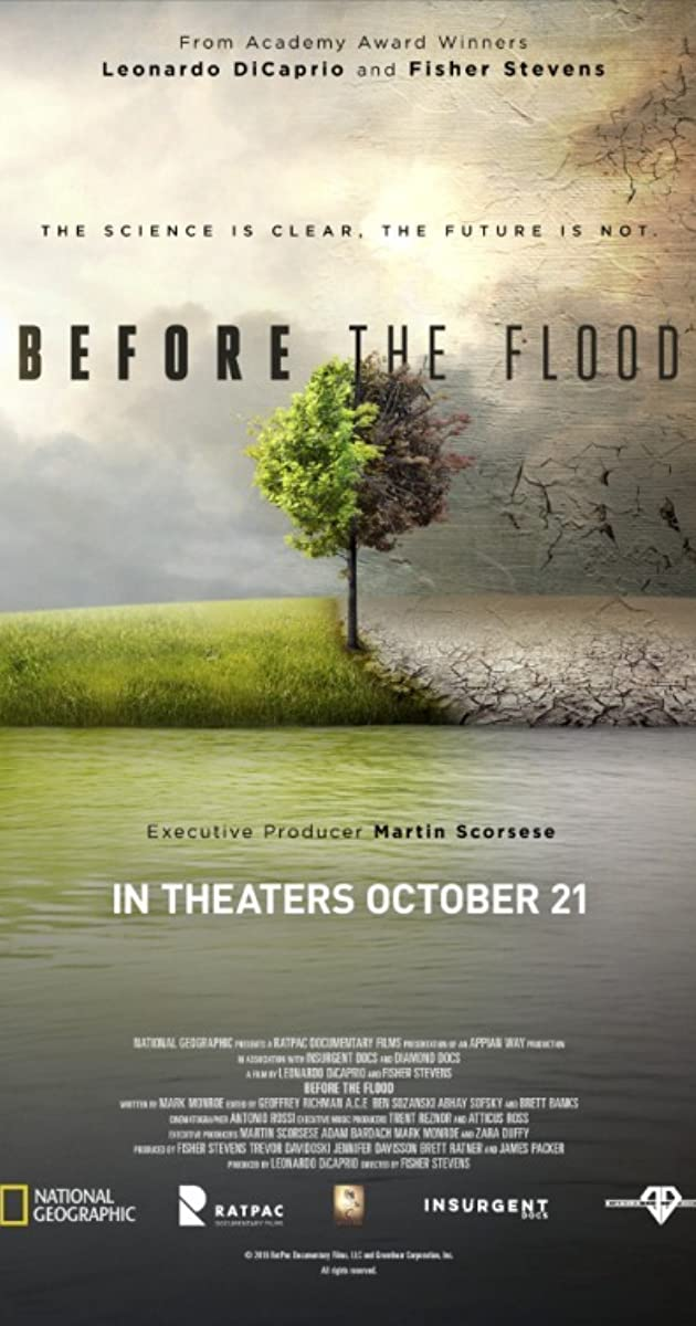 Prieš potvynį / Before the Flood (2016)