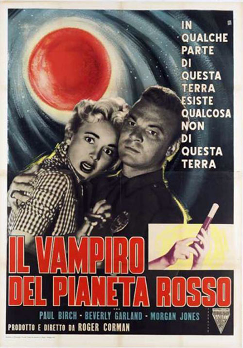 La locandina del film nella versione italiana
