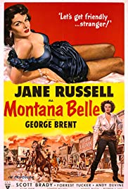 Montana Belle (1952) Poster - Movie Forum, Cast, Reviews