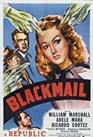 Blackmail Poster
