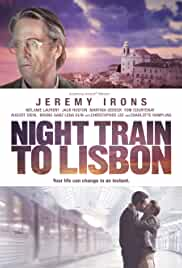 Night Train To Lissabon film poster