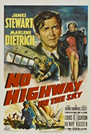 No Highway in the Sky (1951) Poster - Movie Forum, Cast, Reviews