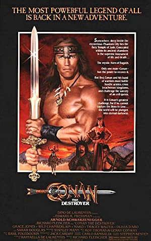 Conan the Destroyer โคแนน ตอนถล่มวิหารเทพเจ้า
