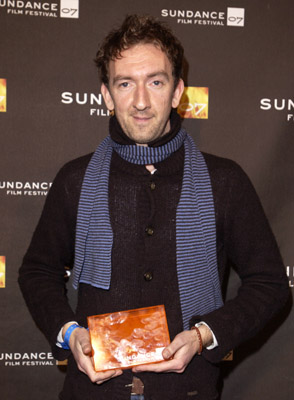 John Carney at an event for Once (2007)