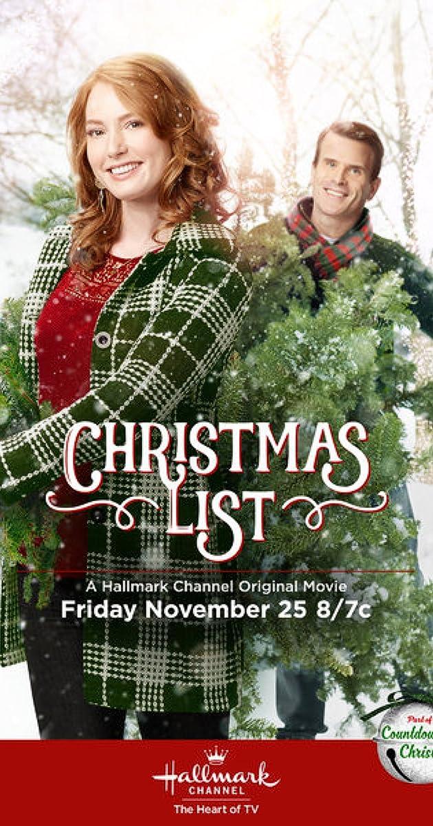 Christmas List (TV Movie 2016) - IMDb