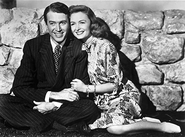 James Stewart and Donna Reed in It's a Wonderful Life (1946)