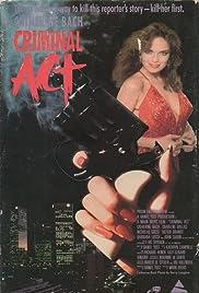 Criminal Act Poster
