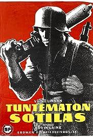 Tuntematon sotilas Poster