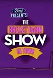 The Breast Darn Show in Town Poster