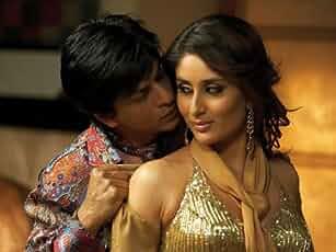 Kareena Kapoor and Shah Rukh Khan in Don (2006)