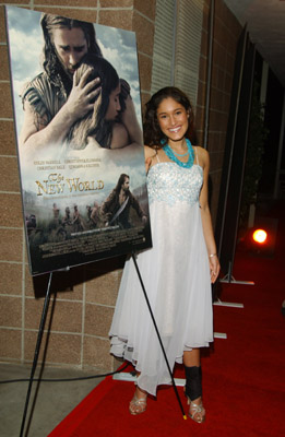 Q'orianka Kilcher at an event for The New World (2005)