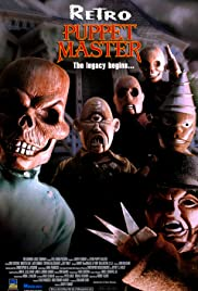 Retro Puppet Master Poster